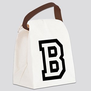 College B Canvas Lunch Bag