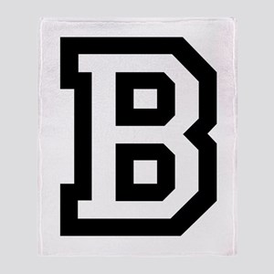 College B Throw Blanket