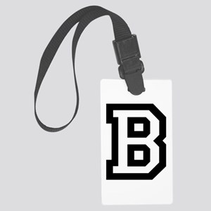 College B Large Luggage Tag