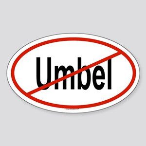 UMBEL Oval Sticker