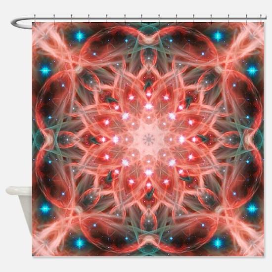 Ascension Mandala Shower Curtain