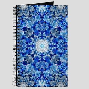 Aqua Crystal Mandala Journal