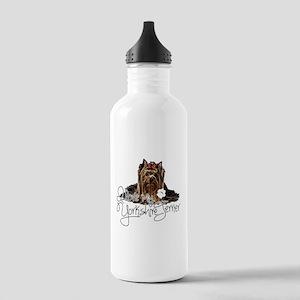 Love my Yorkie2 Water Bottle
