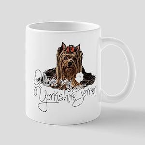 Love my Yorkie2 Mugs