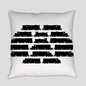EMD Locomotives Everyday Pillow