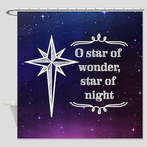 Star of Wonder Shower Curtain