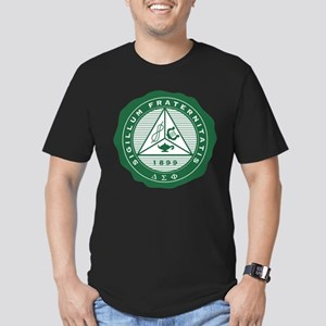 Delta Sigma Phi Frater Men's Fitted T-Shirt (dark)