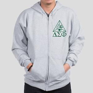 Delta Sigma Phi Zip Hoodie
