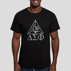 Delta Sigma Phi Men's Fitted T-Shirt (dark)