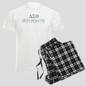 Delta Sigma Phi Letters Men's Light Pajamas