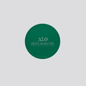 Delta Sigma Phi Letters Mini Button