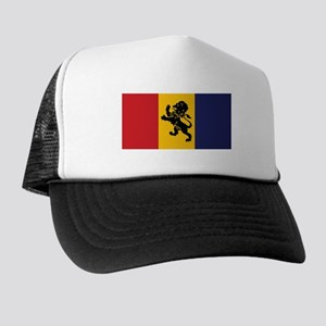delta kappa epsilon flag Trucker Hat