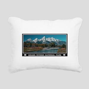 TETONS Rectangular Canvas Pillow