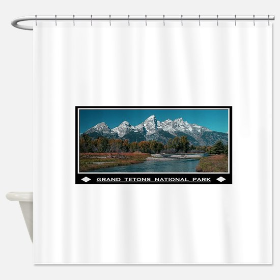 TETONS Shower Curtain