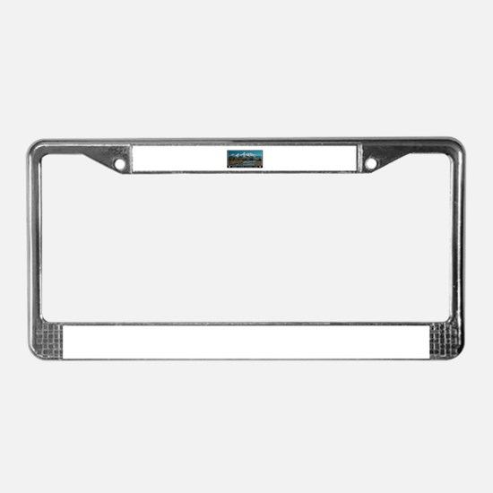 TETONS License Plate Frame