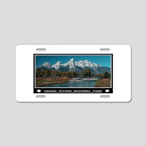 TETONS Aluminum License Plate