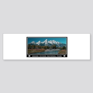TETONS Bumper Sticker