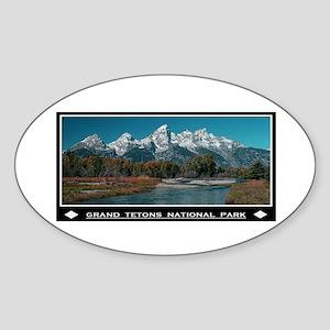 TETONS Sticker