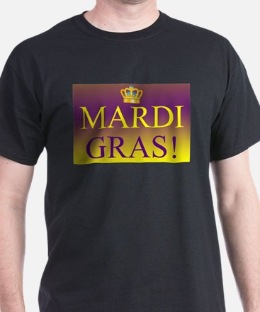 Mardi Gras Royal Colors T-Shirt