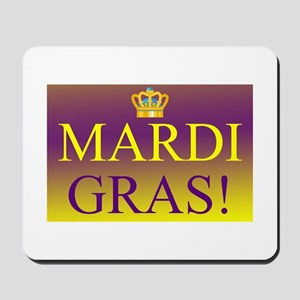 Mardi Gras Royal Colors Mousepad