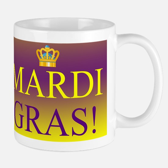 Mardi Gras Royal Colors Mug