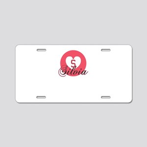 silvia Aluminum License Plate