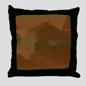 Forest Mist 7 Throw Pillow