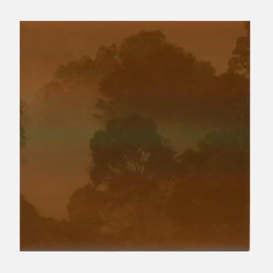 Forest Mist 7 Tile Coaster