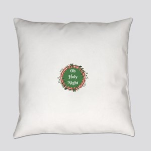 Oh Holy Night Everyday Pillow