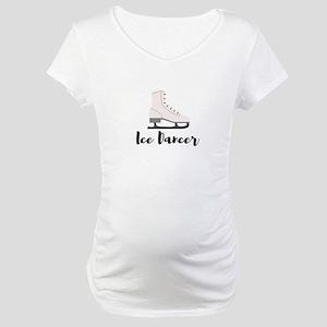 Ice Dancer Maternity T-Shirt