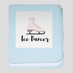 Ice Dancer baby blanket