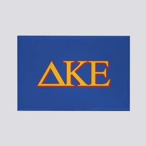 DKE Letters Rectangle Magnet