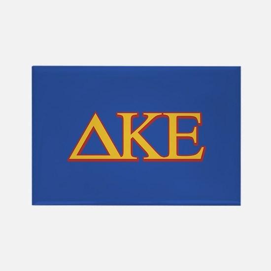 DKE Letters Rectangle Magnet