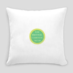 Dalai Lama Quote Everyday Pillow