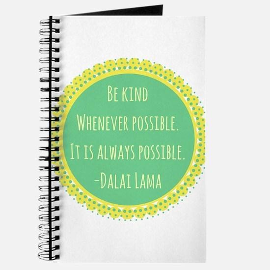 Dalai Lama Quote Journal
