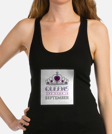 Queens are Born in September Tank Top