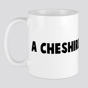 A cheshire cat smile Mug