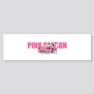 pink season Bumper Sticker