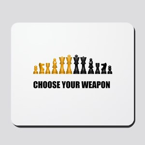 Chess Game Play Mousepad