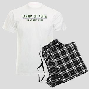 Lambda Chi Alpha Personalized Men's Light Pajamas