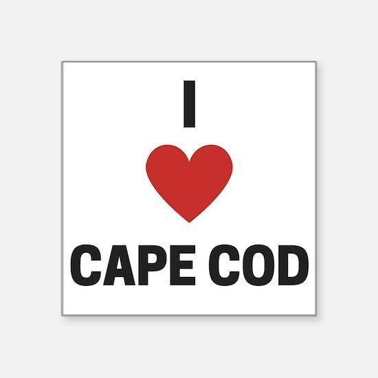 I Love Cape Cod Sticker