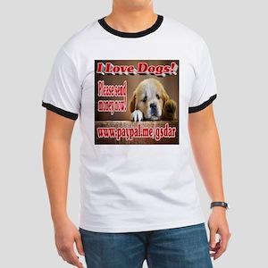 I Love Dogs! Ringer T