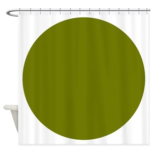 Concentric Circle Shower Curtains