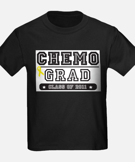 Chemo Grad - Yellow Ribbon T-Shirt