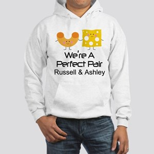Mac and Cheese Couples Personalized Sweatshirt