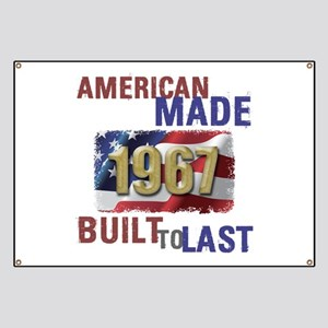 1967 American Made Banner