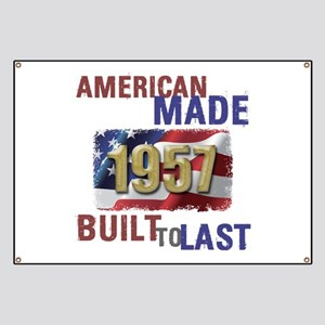 1957 American Made Banner