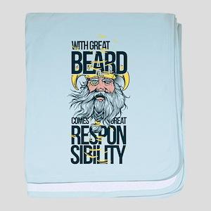 Great Beard baby blanket