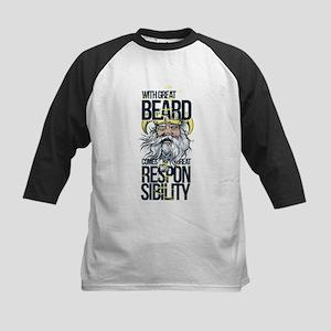 Great Beard Baseball Jersey