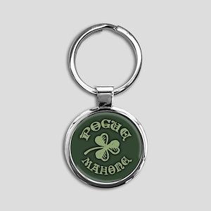 Pogue Mahone Round Keychain